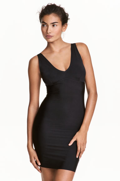 Shaping dress - Black - Ladies | H&M 1