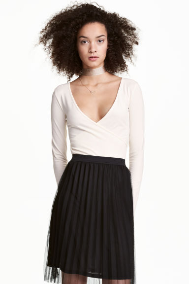 Jersey body - Natural white - Ladies | H&M CN 1