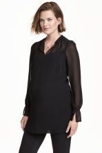 MAMA Blouse - Black -  | H&M CN 1