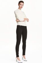 Pantaloni superstretch - Nero - DONNA | H&M IT 2