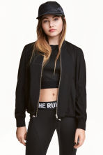 Bomber jacket - Black/Gold - Ladies | H&M 1