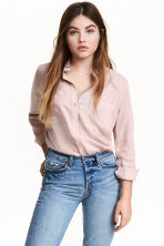 Viscose shirt - Light old rose - Ladies | H&M CN 1