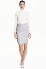 Pencil skirt - Light grey - | H&M GB