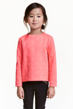 Sweat - Rose fluo - ENFANT | H&M FR 1