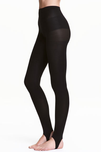 60 denier leggings - Black - Ladies | H&M 1