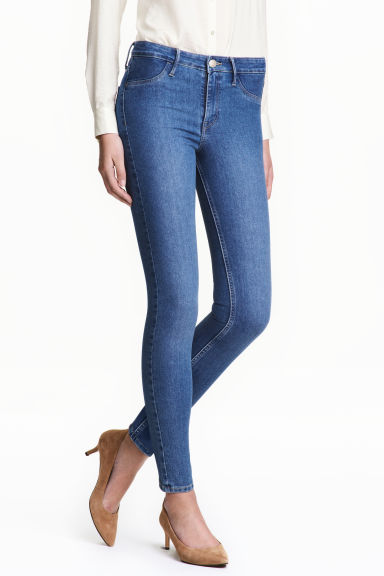 Skinny Regular Ankle Jeans 模特款型