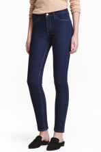 Skinny Regular Ankle Jeans - 深牛仔蓝 - Ladies | H&M CN 2