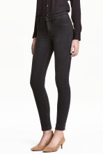 Skinny Regular Ankle Jeans - Dark grey denim - Ladies | H&M 1