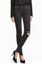 Super Skinny Low Jeans - Nero Washed out - DONNA | H&M IT 1