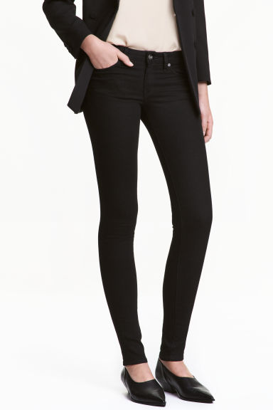 Super Skinny Low Jeans Модель
