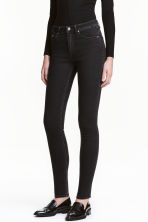 Skinny High Jeans - Black - Ladies | H&M CA 1