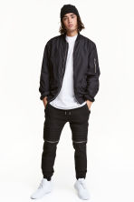 Biker joggers - Black - Men | H&M 1