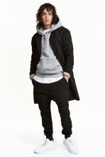 Cotton twill coat - Black - Men | H&M CN 1