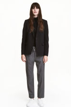Pull-on trousers - Dark grey marl - Ladies | H&M CN 1