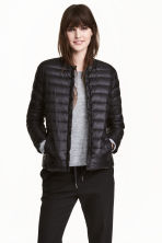 Thin down jacket - Black - Ladies | H&M 1
