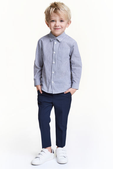 西裝褲 - Dark blue - Kids | H&M