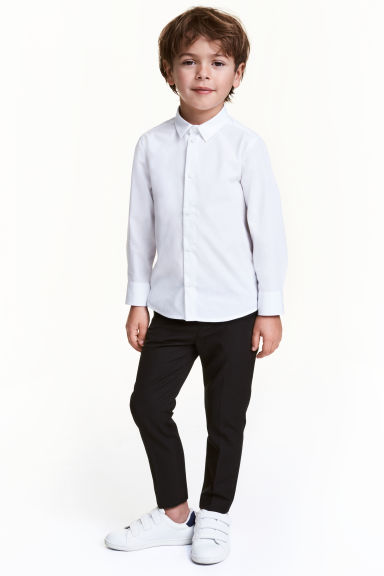西裝褲 - Black - Kids | H&M 1