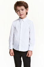 Easy-iron shirt - White - Kids | H&M CN 1