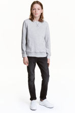 Superstretch Skinny fit Jeans - 水洗黑色 - 儿童 | H&M CN 1