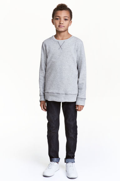 Skinny Fit Jeans - Dark denim blue - Kids | H&M 1