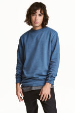 Sweatshirt - Grey-blue - Men | H&M 1