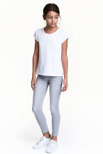 Superstretch Skinny Fit Jeans - Light grey washed out - Kids | H&M 1