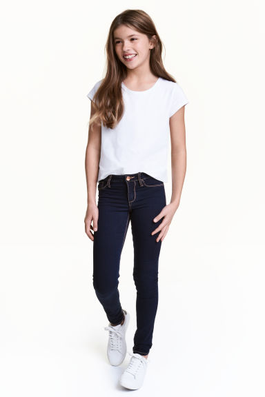Superstretch Skinny Fit Jeans - Dark denim blue - Kids | H&M CN 1
