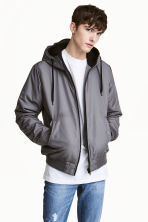 Padded jacket - Grey - Men | H&M 1