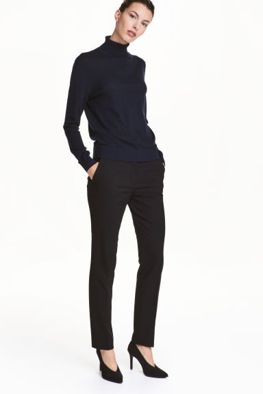 Pantaloni da tailleur - Nero - DONNA | H&M IT