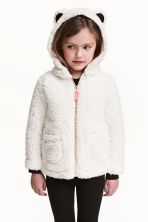 Pile jacket - Natural white -  | H&M 1