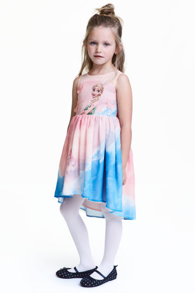 Sleeveless dress - Light pink/Frozen - Kids | H&M 1