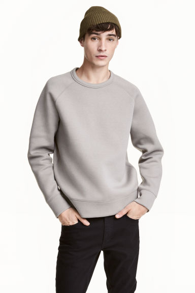 Scuba sweatshirt - Light mole - Men | H&M 1