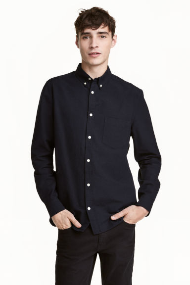 Oxford shirt - Dark blue - Men | H&M 1
