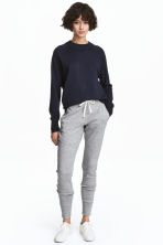 Jersey joggers - Grey marl - Ladies | H&M 1