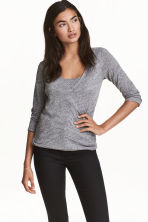 MAMA Nursing top - Dark grey marl - Ladies | H&M 1