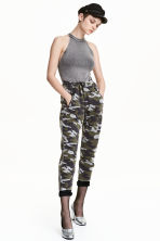 Sweatpants - Khaki green/Pattern - Ladies | H&M 2