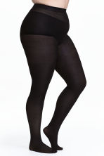 H&M+ 2-pack tights - Black - Ladies | H&M 1