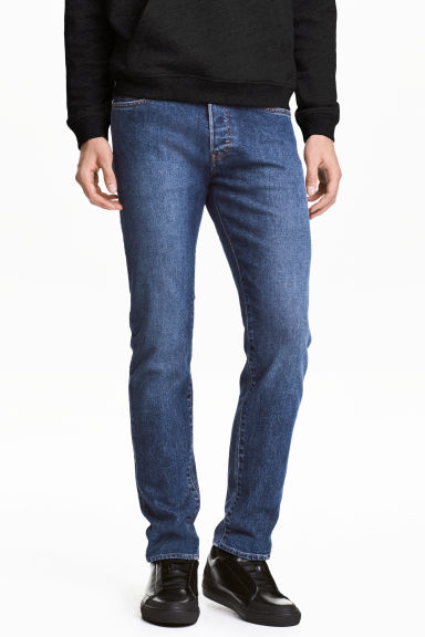 Slim Low Jeans - Denim blue - Men | H&M 1