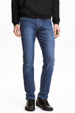 Slim Jeans - Denim blue - Men | H&M CN 1