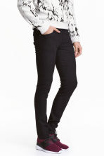 Skinny Low Jeans - Denim noir -  | H&M FR 1
