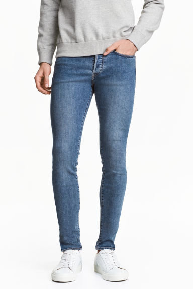 Skinny Low Jeans - Blu denim -  | H&M IT 1