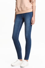 Denim leggings - Denim blue - Ladies | H&M GB 1