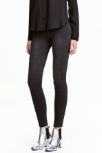 Leggings in denim - Nero - DONNA | H&M IT 1