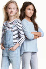 2-pack tops - Light blue -  | H&M 1
