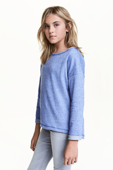 Sweat - Bleu chiné - ENFANT | H&M FR 1