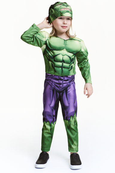 Superhero costume - Green/Hulk - Kids | H&M 1