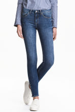 Skinny Low Jeans - Denim blue - Ladies | H&M CA 1