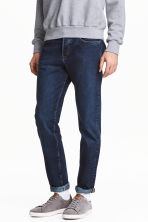 Slim Regular Tapered Jeans - Dark denim blue - Men | H&M 1