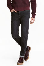 Slim Regular Tapered Jeans - Black washed out - Men | H&M 1