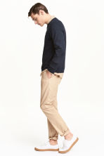 Chino Slim fit - Beige clair - HOMME | H&M FR 1